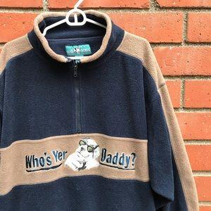 Big Dogs Who's Yur Daddy? Fleece Sweater